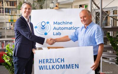 """Neue Kooperation: STW und Fraunhofer IVI gründen """"Machine Automation Lab"""""""