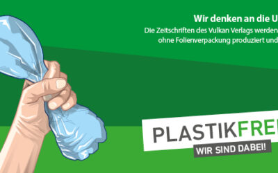 Klimaschutz: Vulkan Verlag versendet ab sofort plastikfrei