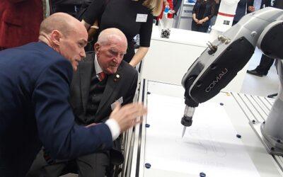 Hochschule Heilbronn präsentiert kollaborative Roboter