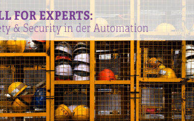 Call for atp-Experts: Safety & Security in der Automation