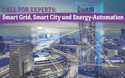 Call for Papers: Smart Grid, Smart City und Energy-Automation