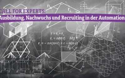 Call for Papers: Ausbildung, Nachwuchs und Recruiting in der Automation