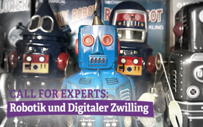 Call for Papers: Robotik und Digitaler Zwilling