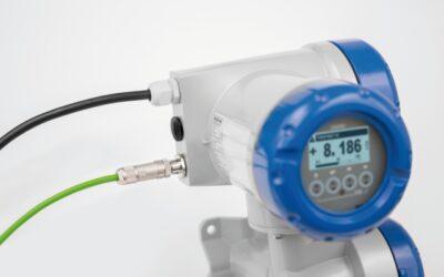 PROFINET I/O als Option für magnetisch-induktive Durchflussmessgeräte