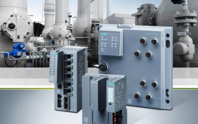 Robuste Industrial Ethernet Switches für die Prozessindustrie
