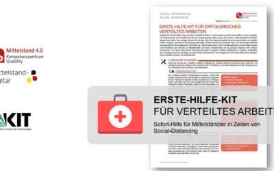 Home Office: Erste-Hilfe-Kit für KMU hilft beim dezentralen Arbeiten