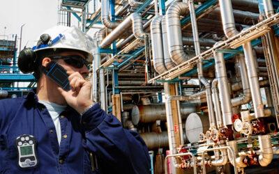 Überwachung der Sicherheit industrieller Mitarbeiter in Echtzeit