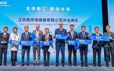 Sensorik: SICK eröffnet neuen Standort in China
