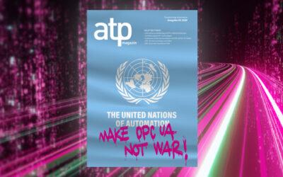 atp magazin 3/2020: Make OPC UA, not War!