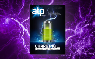 atp magazin 11-12/2020: Charging … Industrie 4.0 goes Open Source