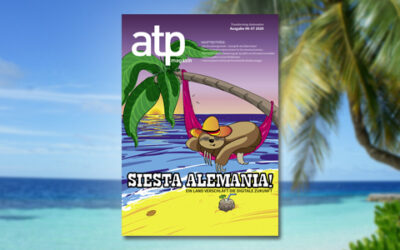atp magazin 6-7/2020: Siesta, Alemania!