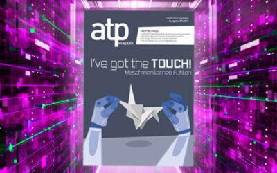 atp magazin 5/2019: Robotik und Digital Twin in der Smart Factory