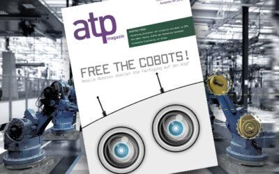 atp magazin 9/2018: Free the Cobots! Mobile Roboter in der Fertigung