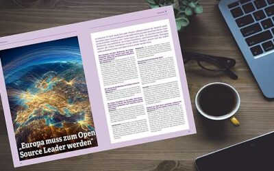 "Interview: ""Europa muss zum Open Source Leader werden"""