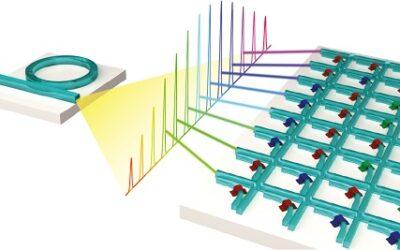 Datentransfer: Licht beschleunigt maschinelles Lernen