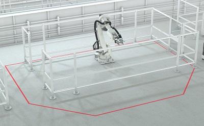 Bremsweg-Simulator: mehr Sicherheit und reduzierter Platzbedarf in Roboterzellen