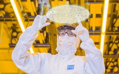 Bosch eröffnet Chipfabrik der Zukunft in Dresden: Voll vernetzt, mit künstlicher Intelligenz gesteuert