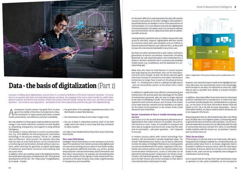 Data – the basis of digitalization (Part 1)