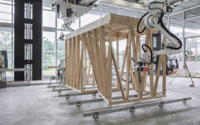 Robotik treibt Bauindustrie in der Zukunft voran