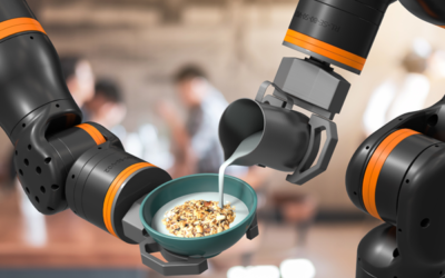 Weltweit leichtester Cobot für die Servicerobotik präsentiert