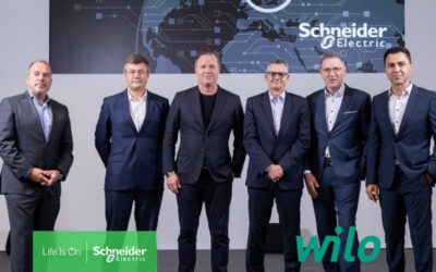 Nachhaltigkeit: Schneider Electric und Wilo vertiefen Partnerschaft