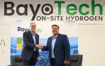 Emerson und BayoTech produzieren günstigen Wasserstoff